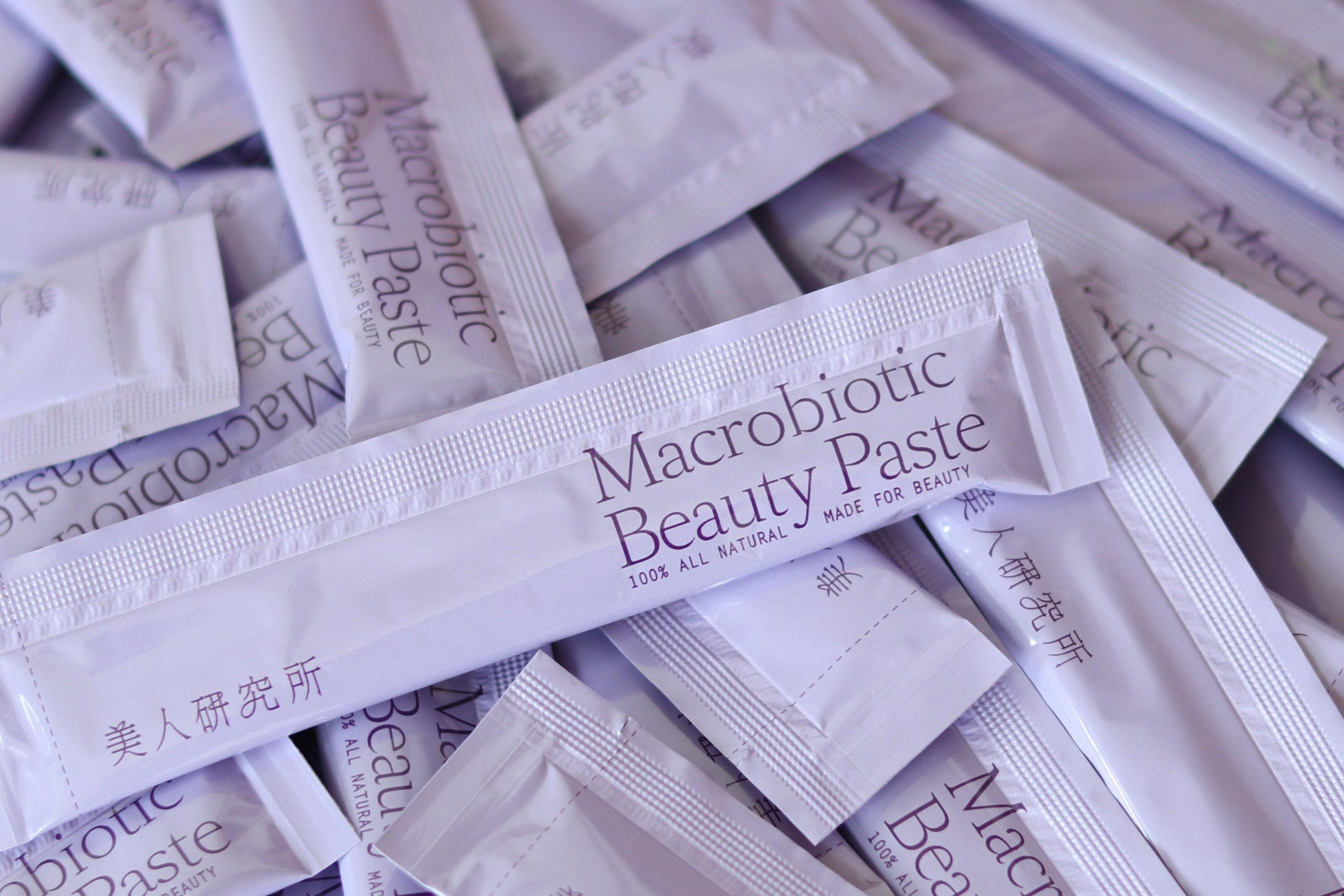 Macrobiotic beauty paste